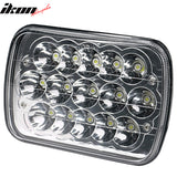 7in x 6in Full LED Sealed Beam Square Projector Headlight Single Piece