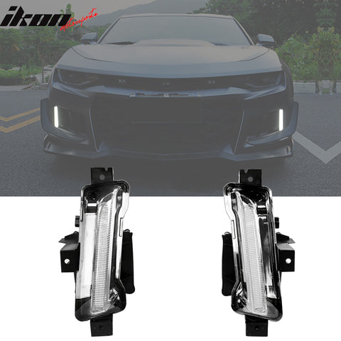 Fits 16-20 Chevy Camaro ZL1 Fog Lights No Turn Signal Function