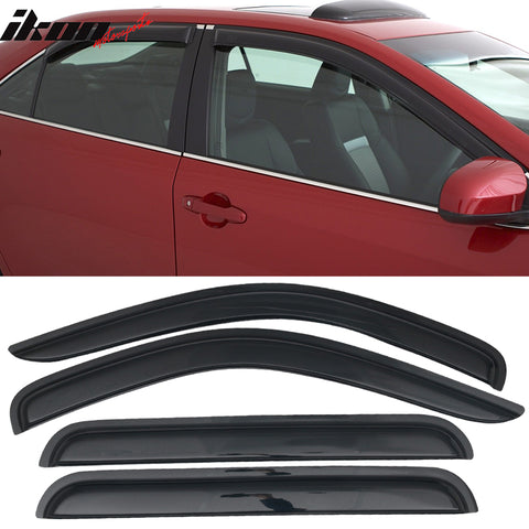 Fits 98-03 Dodge Durango Acrylic Window Visors 4PC Set