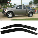 Fits 05-17 Nissan Frontier Acrylic Window Visors