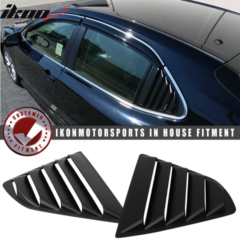Fits 18-20 Toyota Camry Window Louvers 2Pc Set