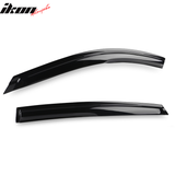 Fits 18-20 Honda Accord Sedan Mugen Acrylic Window Visors