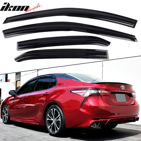 Fits 18-21 Toyota Camry Mugen Acrylic Window Visors