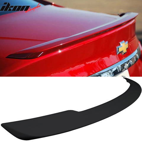 Fits 14-19 Chevy Impala OE Rear Flush Mount Trunk Spoiler - ABS