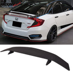 Fits 16-20 Honda Civic Type A Trunk Spoiler Si Sport Rear Wing