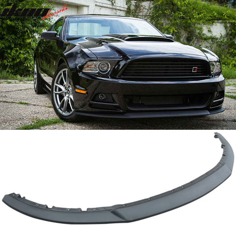 Fits Ford 13-14 Mustang GT R 3 PCS Front Bumper Lip -injection PP