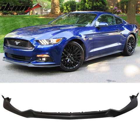 Fits 15-17 Mustang Performance Front Lip  PU