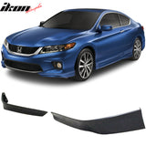 Fits 13-15 Honda Accord Coupe HFP 2 Piece Front Lip Underbody Spoilers