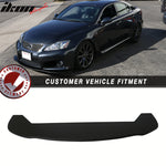 Fits Universal Fitment Type 4 Front Lip Bumper Valance PP