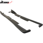 Fits 02-06 Acura RSX DC5 CS Bottom Line Side Skirt Extensions - PU