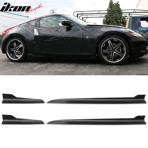 Fits Nissan 370Z 350Z Fairlady Maxima Side Skirts Rocker Panels S (PP)