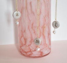 Load image into Gallery viewer, Monogram necklace