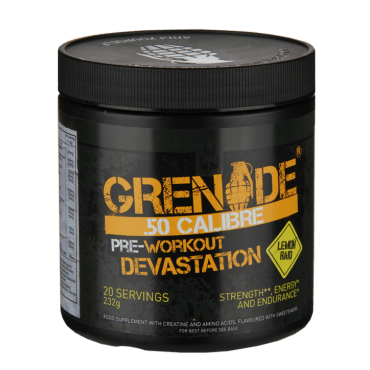 Grenade 50 CALIBRE 232G Various Flavours