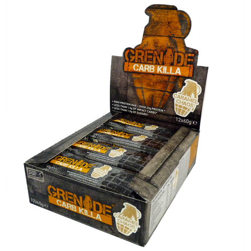 Grenade Carb Killa Protein Bar 12 x 60 Grams Various Flavours