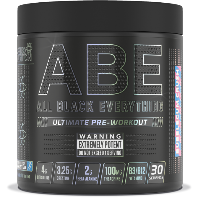 Applied Nutrition ABE best Pre-workout (All Black Everything) 315g  VArious Flavours