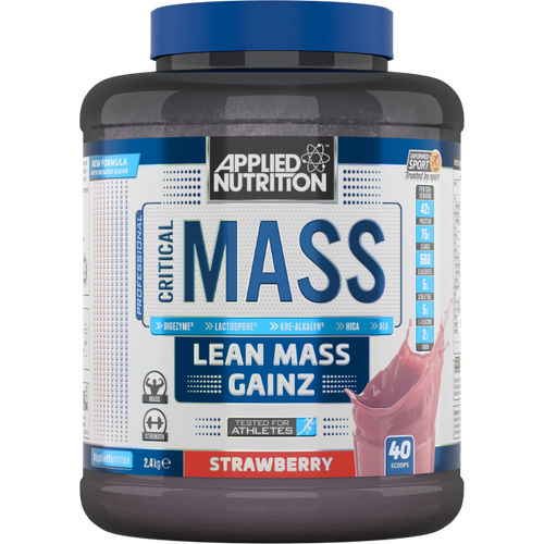 Applied Nutrition Critical Mass 2.4kg Various Flavours