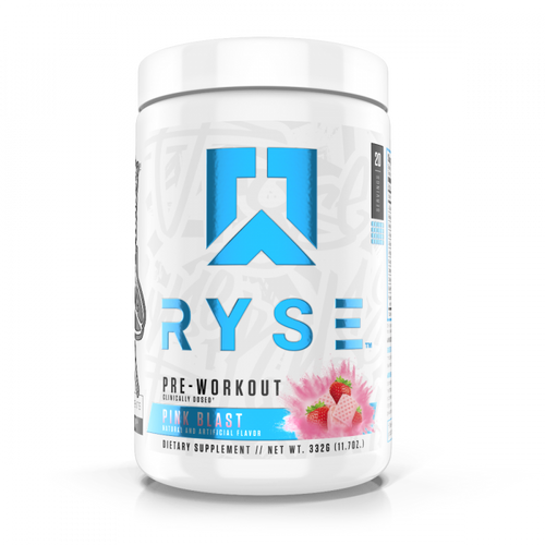 Ryse Supps Pre Workout 332g Various Flavours