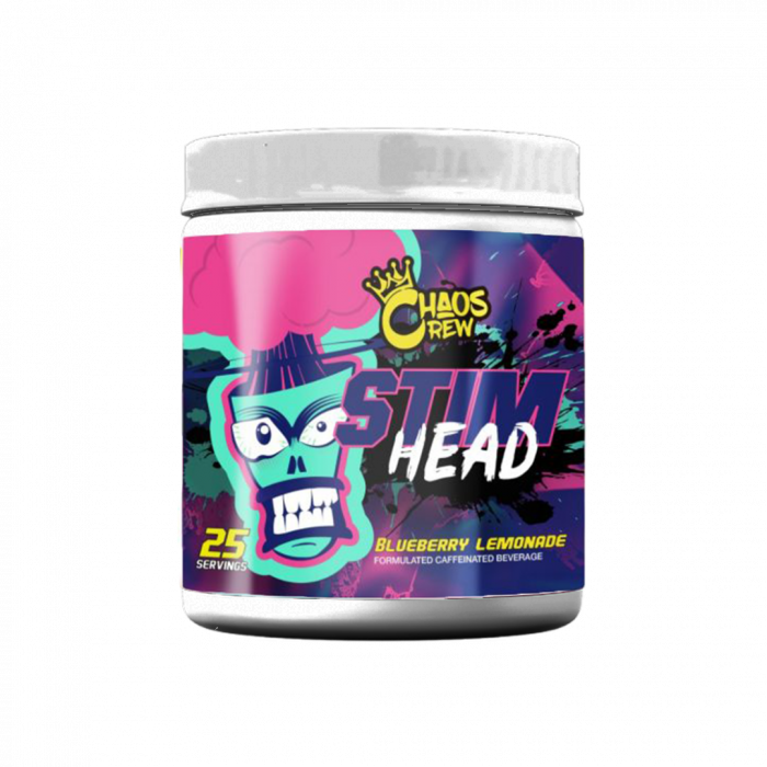 Chaos Crew Stim Head 208g Various Flavours
