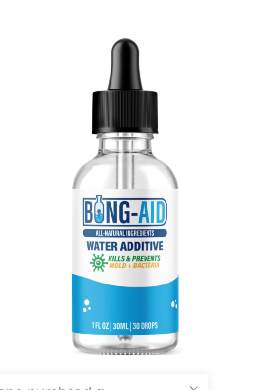 Bong Aid Natural Water Additive
