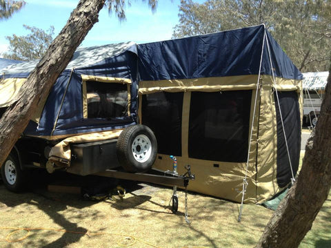Ridgeline Zenith Rear Room Kit - Image courtesy of In2Campers.com.au