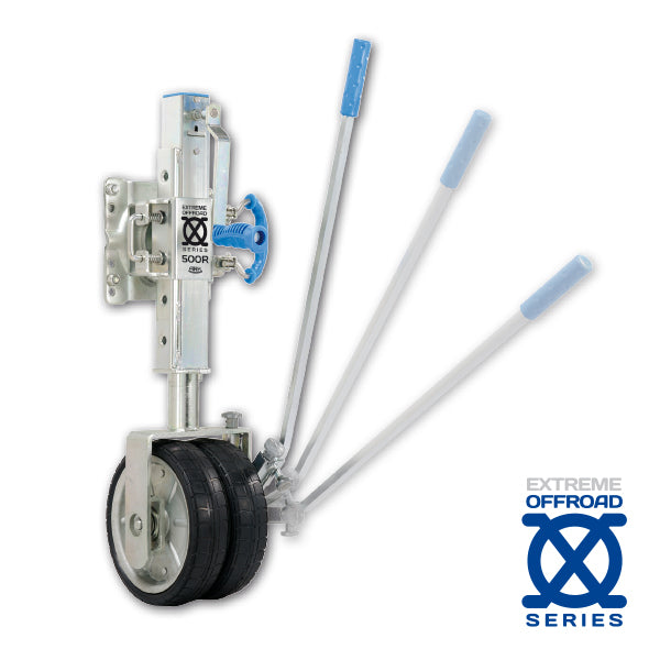 XO500R Dual Wheel Ratchet Jockey Wheel