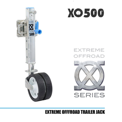 XO500 Off Road Trailer Jockey Wheel