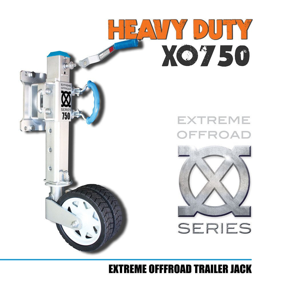 XO750 Offroad Trailer Jockey Wheel
