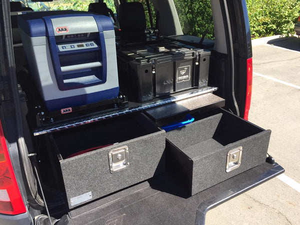 Land Rover LR3/4 - 2 Drawer + Table system