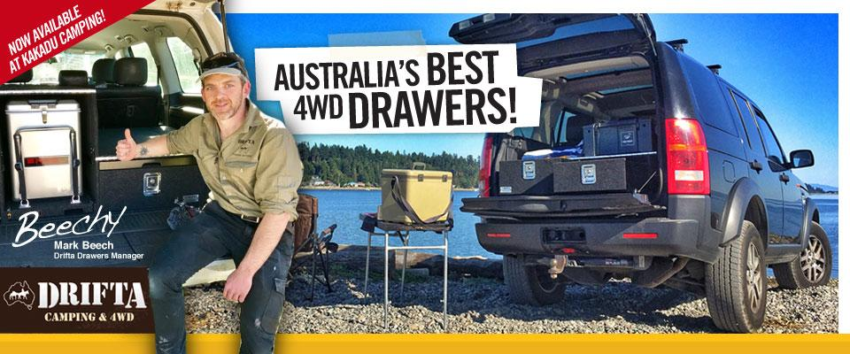 Drifta 4WD Drawers and Kitchens