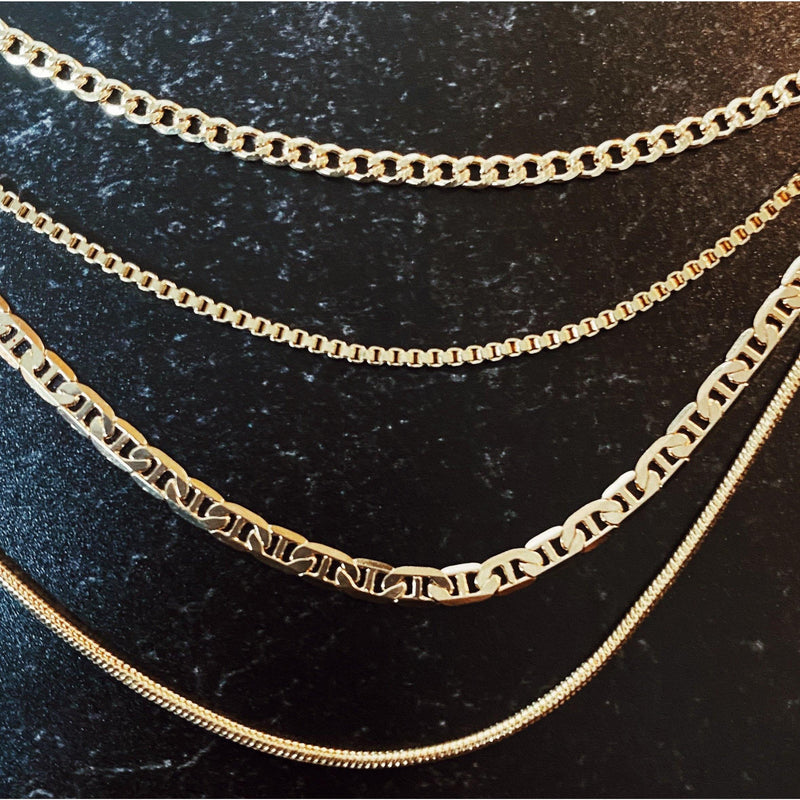 COCOA ARI - Naked Layering Chain 20 inches