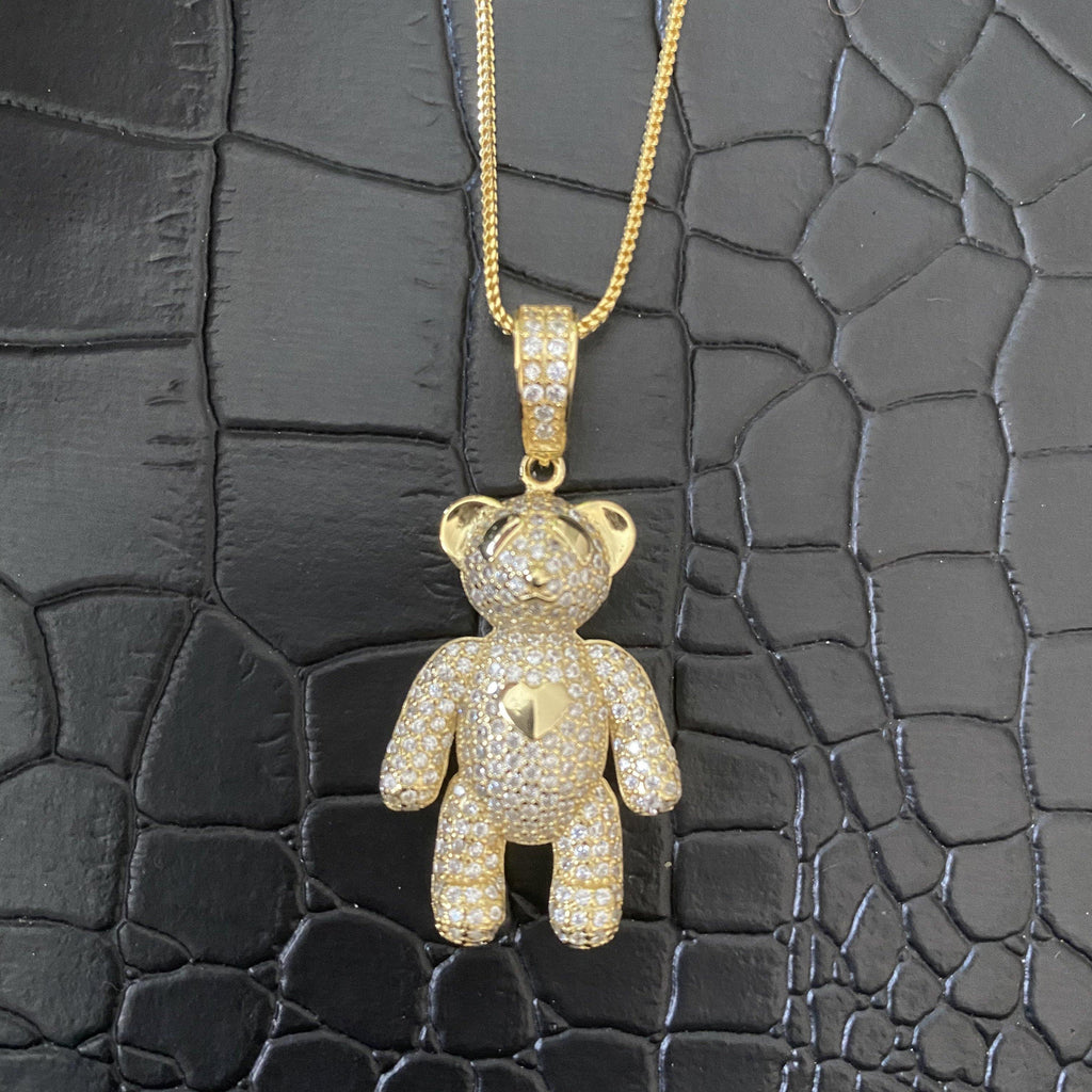 COCOA ARI - Teddy Bear Sterling Silver Necklace