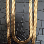 COCOA ARI - Gold Plated Herringbone Necklace