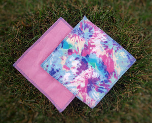 Pastel Tie Dye Cloth Wipes