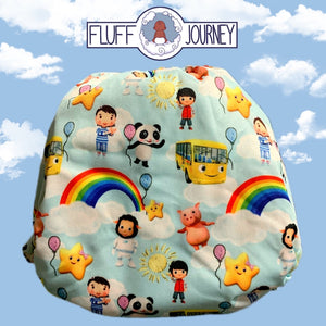 Fluff Journey Pocket Diaper- Baby Friends