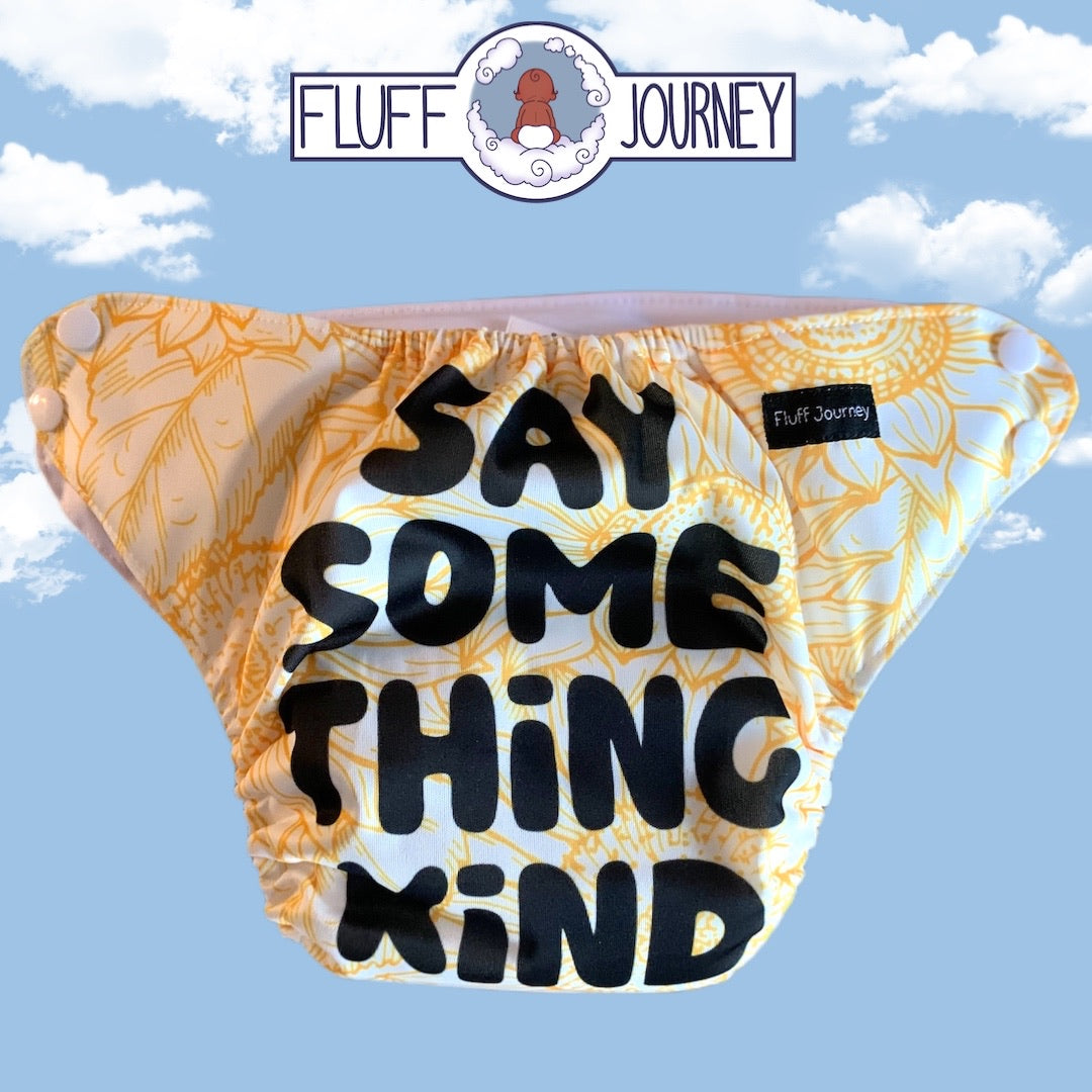 Fluff Journey Pocket Diaper- Say Something Kind