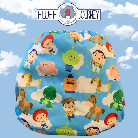 Fluff Journey Pocket Diaper- You've Got A Friend In Me