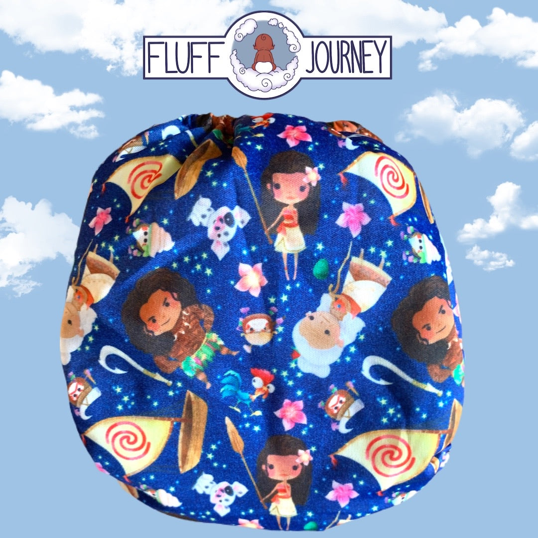 Fluff Journey Pocket Diaper- Moana