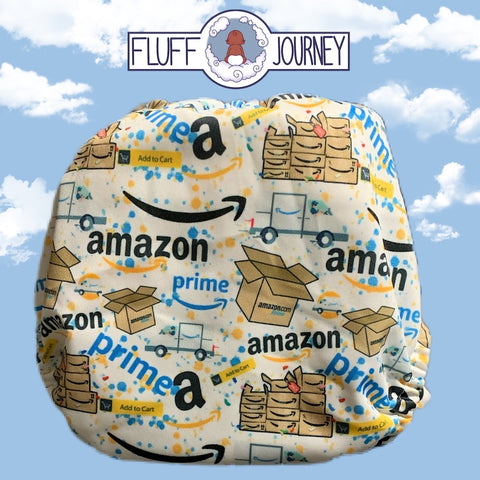 Fluff Journey Pocket Diaper- Amazon