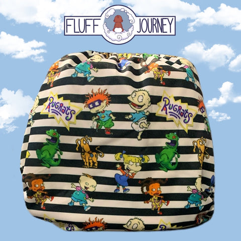 Fluff Journey Pocket Diaper- Hang on to your Diapes!