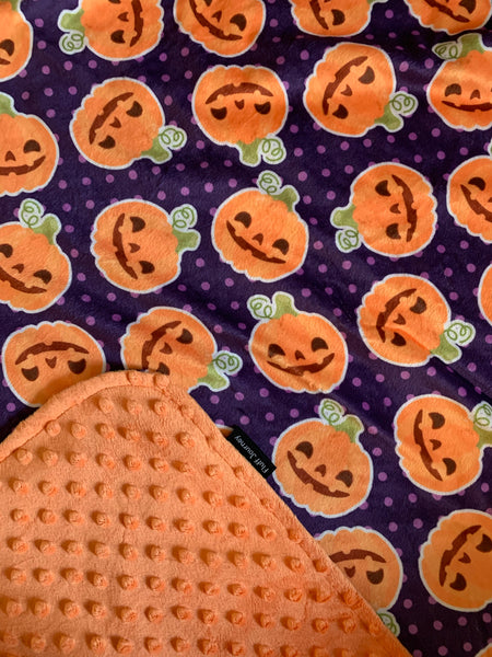 Happy Pumpkins Blanket