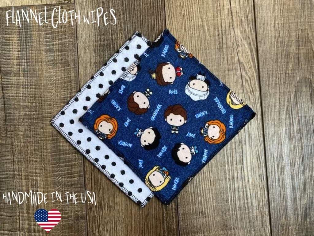 How You Doing? (Polkas) - Cloth Wipes