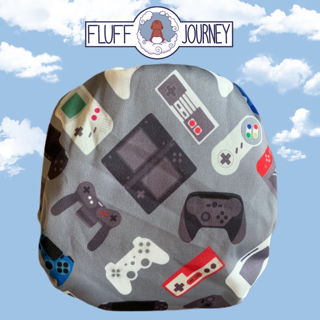 Fluff Journey Pocket Diaper- Game Time