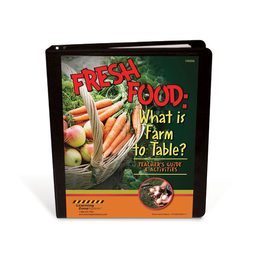 Fresh Food: What is Farm To Table? Teacher's Guide & Activities