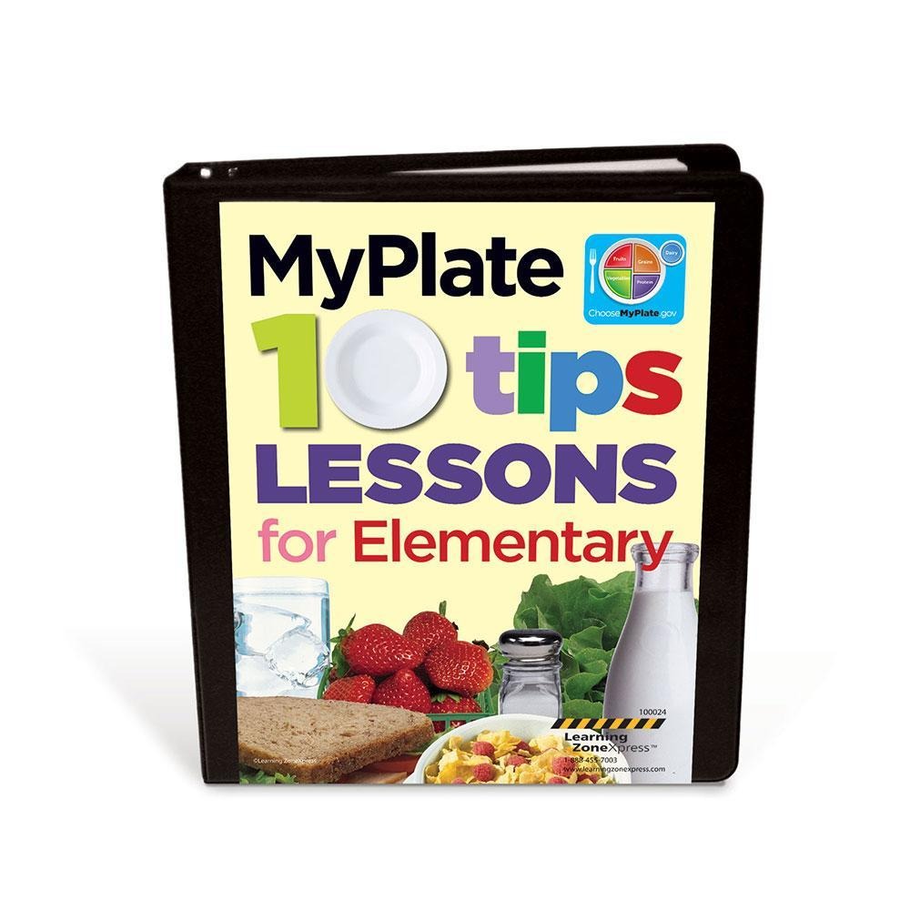 MyPlate 10 Tips Lessons for Elementary