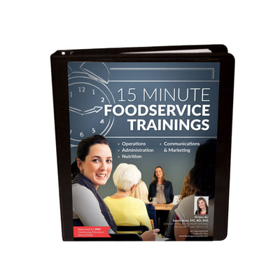 15 Minute Foodservice Trainings