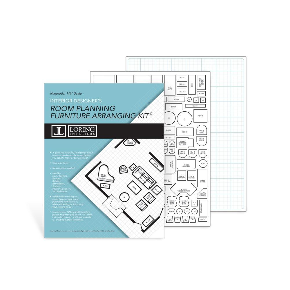 Room Planning/Furniture Arranging Kit
