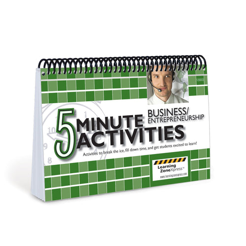 5 Minute Business / Entrepreneurship Activities