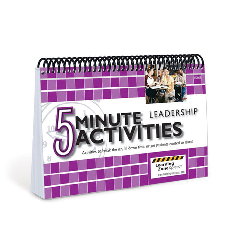 5 Minute Leadership Activities