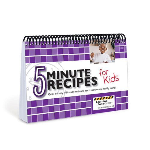 5 Minute Recipes for Kids