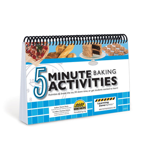 5 Minute Baking Activities